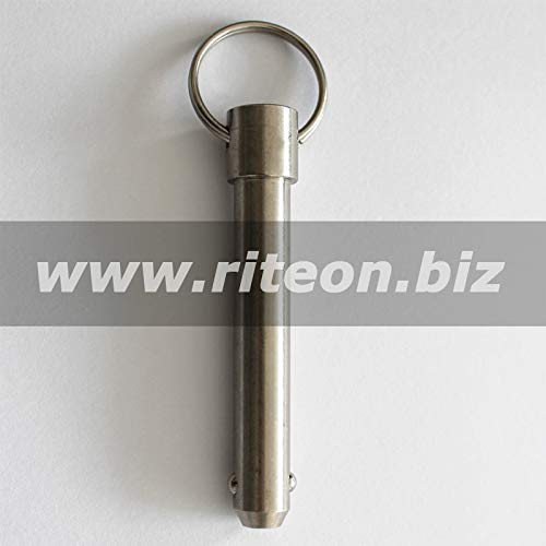 (Ochoos Detent pin, Quick Release pin, Stainless Steel, Two Balls, RITEON/M10SD50)