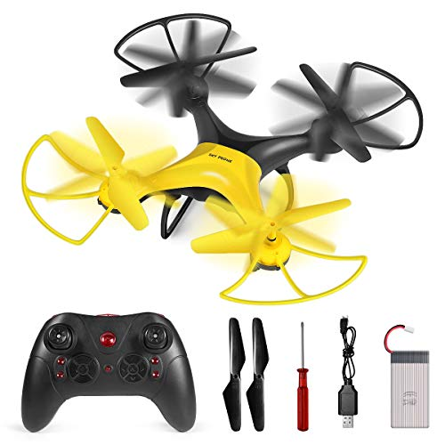 Kawai RC Drone, 360-Degree Flip & Rolls RC Helicopter for Kids Adults, 2.4GHz Remote Control Drone, Easy to Fly to…