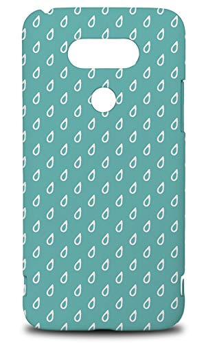 Raindrops Rain Pattern Hard Phone Case Cover for LG G5