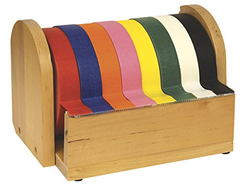Chenille Kraft Company Wood (CHENILLE KRAFT COMPANY 8 Roll 1-Inch Wide Tape Stand)