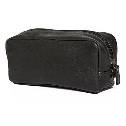 Moore and Giles Mini George Toiletries Kit - Black by Moores and Giles