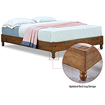 Amazon Com Musehomeinc 12 Inch Solid Wood Bed Frame