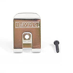 DeWalt pinza para cinturón, gancho para 18 V taladro de impacto/llave DC825, DC827, DCF826