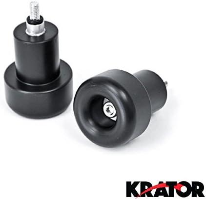 Krator No Cut Frame Sliders Motorcycle Fairing Protectors For 2003-2004 Suzuki GSXR 1000 GSX-R1000