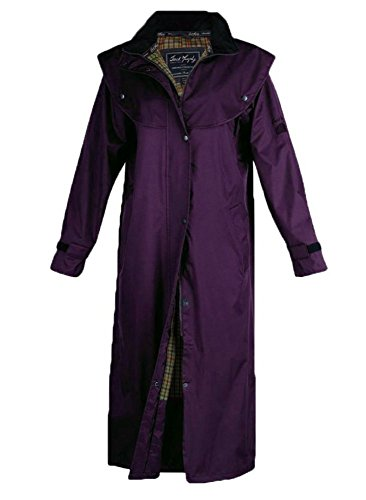 Murphy Blackberry Coat Ladies Malvern Navy JAC062 Full Length Waterproof Jack dzqBYd