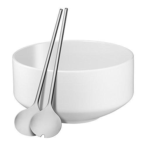(WMF Salat-Set 3tlg. Flower white, satin Moto 0656069440)
