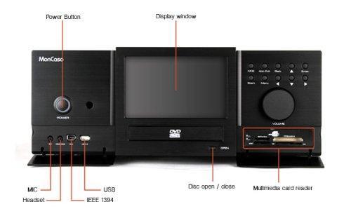 Moneual Lab 932BB Home Theater PC - Black