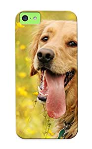 Anettewixom High-quality Durability Case For Iphone 5c(tired Golden Retriever)