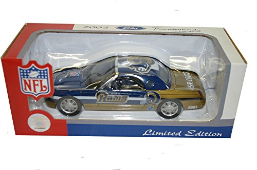 Fleer Collectibles St. Louis Rams 2002 NFL Limited Edition Die-Cast 1:24 Ford Thunderbird by Fleer Collectibles