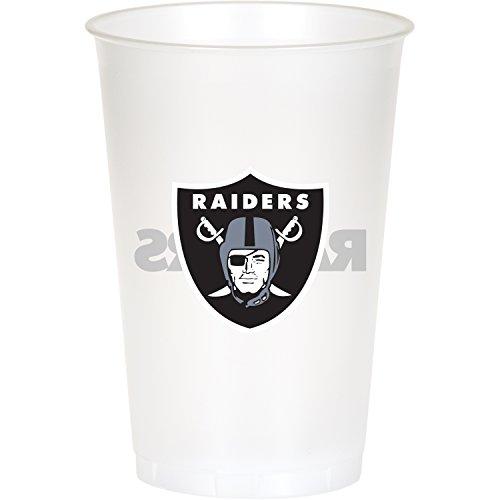 Oakland Raiders Plastic Cups, 24 ct