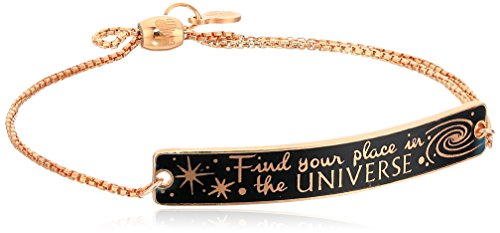 Alex and Ani Womens Wrinkle in Time - Find Your Place in The Universe Pull Chain Bracelet