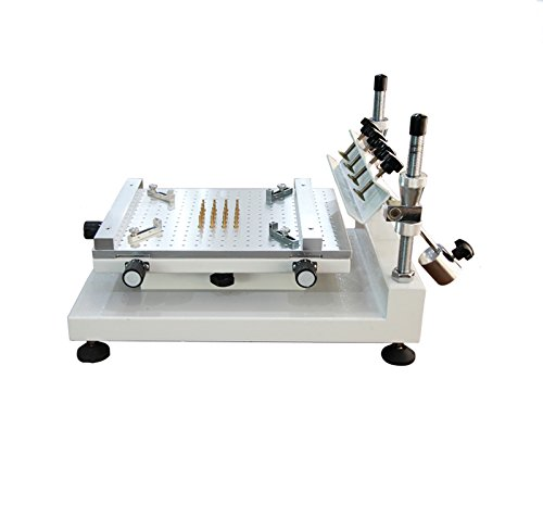 SMT High Precision Steel Screen Printer PCB Solder Paste Screen Printing Press ZB-3040 by YLZ