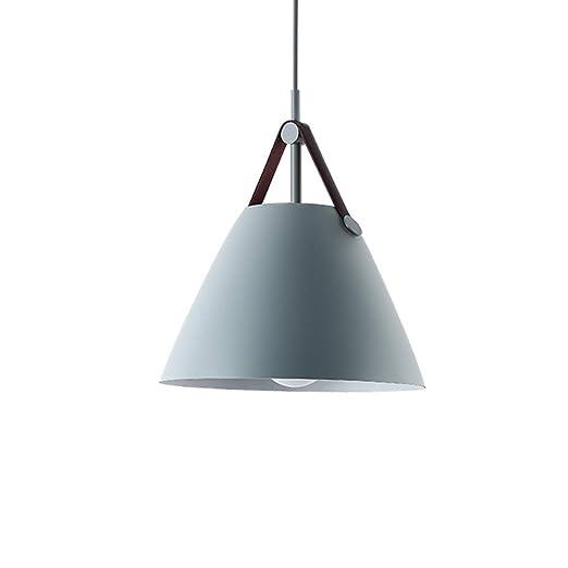 HOIHO Lámparas De Techo Nordic Iron Lámpara Colgante LED ...