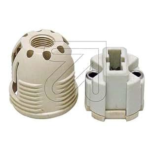 Trenkenchu & Stadler - Portalámparas para halógenos (G9, rosca exterior 26 mm, VPE = 5)