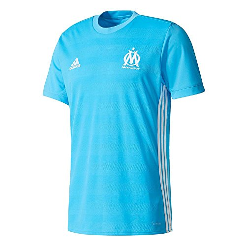 fan products of 2017-2018 Olympique Marseille Adidas Away Football Shirt