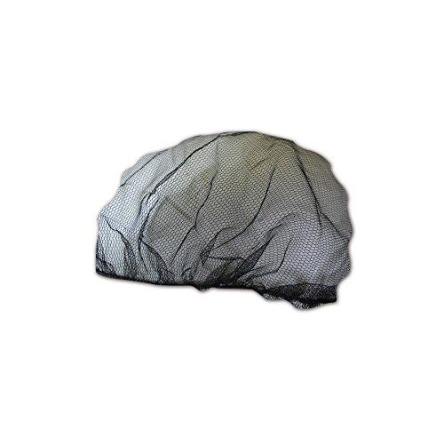 Magid Glove & Safety 2020BK EconoWear Mesh Light Weight Disposable Hair Net, Nylon, 21
