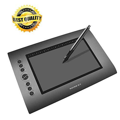 Huion Drawing Graphics Tablet 10'x6' USB Digital Creative Pen Tablet...