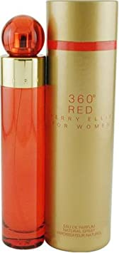 Perry Ellis 360 Red By Perry Ellis For Women. Eau De Parfum Spray 1 oz