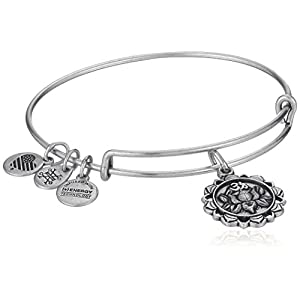 Alex and Ani Lotus Peace Petals IV Bangle Bracelet