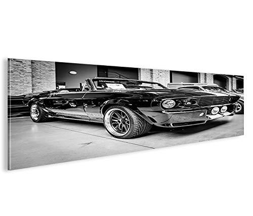 Quadro moderno Mustang Shelby Panorama Impresión sobre ...