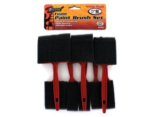 Bulk Buys MS092-96 Foam Paint Brush Set