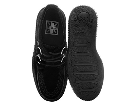 Low T Femmes Creeper u Viva k Shoes Noir Black Velvet XA7AwZrf