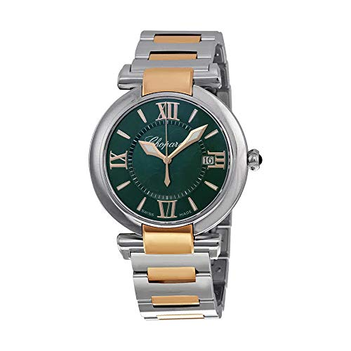 Chopard Imperiale Large Green Dial Two Tone Swiss Made Watch 388532-6007 ()