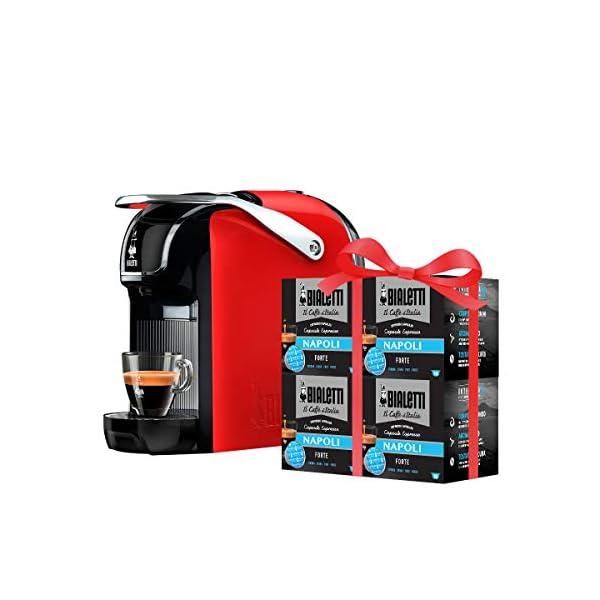 Bialetti Break - Macchina Caffè Espresso a Capsule in Alluminio con sistema Bialetti il Caffè d'Italia, Design compatto… 1