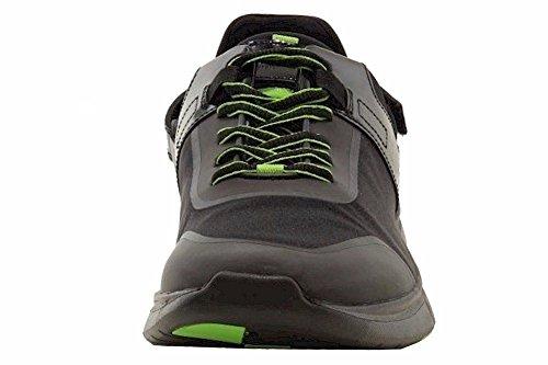 Hugo Boss Hombres Gymm Neo Black Sport Sneakers Zapatos