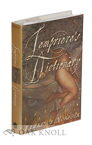 Lemprieres Dictionary Lawrence Norfolk