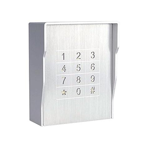 Resistente al agua de acceso sistema de código de bloqueo de apertura de puerta de acceso al control: Amazon.es: Bricolaje y herramientas