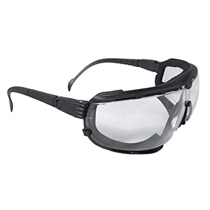 77ef106bce 12 Pack Radians Dagger Foam Lined Safety Goggle DG1-11 Clear Anti-Fog - -  Amazon.com