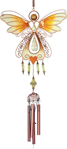AngelStar 72627 Angel Wind Chime, 40-Inch, Copper
