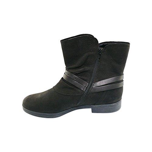 Gabor - Botas de cuero para mujer negro negro negro - negro