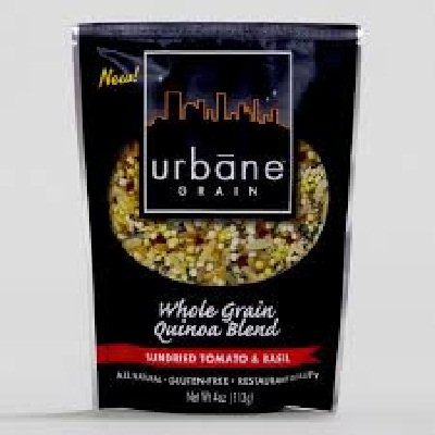 Specialty Grain End (Urbane Grain Sundried Tomato and Basil Quinoa, 4 Ounce - 6 per case.)