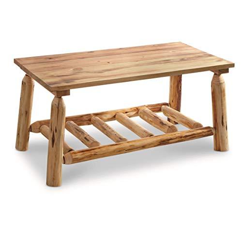 Incroyable CASTLECREEK Log Coffee Table