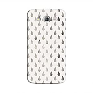 Cover It Up - Raindrops Silver Pastel Galaxy J7 Hard Case
