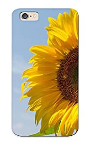 For Iphone 6 Protective Case, High Quality For Iphone 6 Sunflower Skin Case Cover