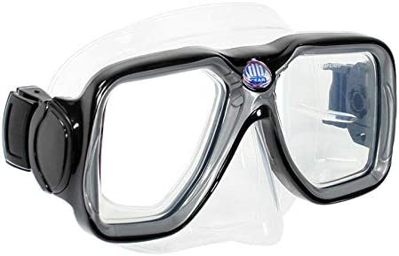 Maui Jr. Deep Blue Gear Kids Diving Snorkeling Mask with Optical Corrective Lenses
