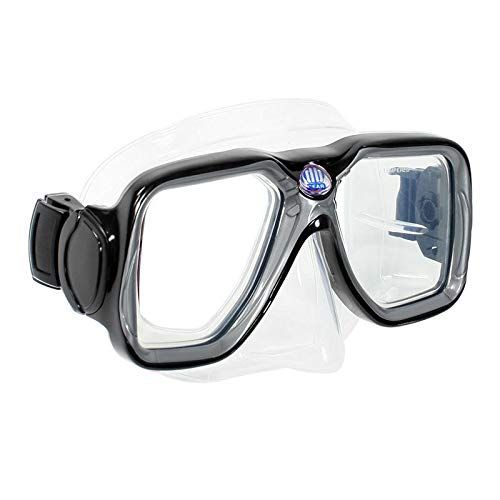 Deep Blue Gear Maui Diving and Snorkeling Mask -, Easy Visibility, Black by Deep Blue Gear