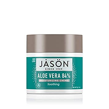 Amazon.com : Jason Soothing Aloe Vera 84% Moisturizing Creme 4 oz (Pack of 4) : Body Gels And Creams : Beauty