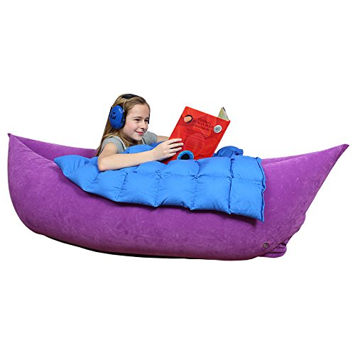 Amazon.com: Cozy Canoe For Sensory Diet U2013 Vinyl, Inflatable, Max. Height  5Ft 3In U2013 70 Inches By 31.5 Inches By 19 Inches, Purple: Health U0026 Personal  Care