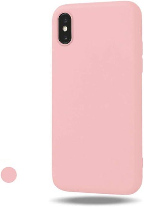 coque apple iphone 7 rose poudre