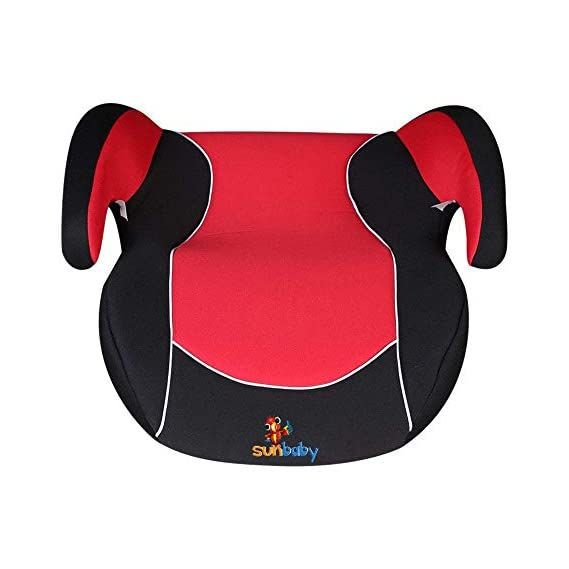 Sunbaby Car Seat for Baby (Red/Black)