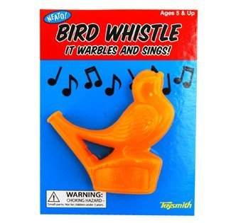 Warbling Bird Whistle (Colors Vary)