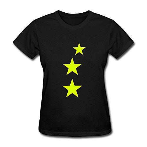 WSB Women's Tee Three Stars Black S