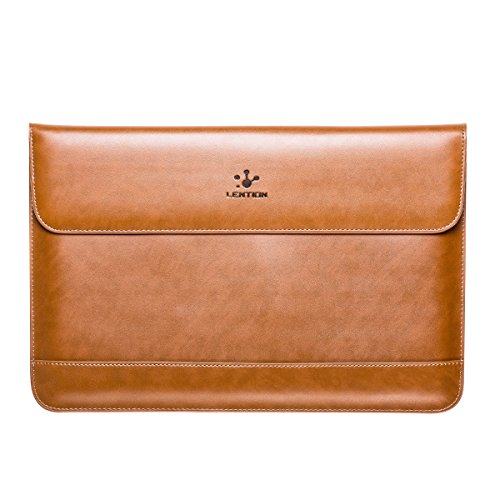 LENTION Leather MacBook Carrying Magnetic
