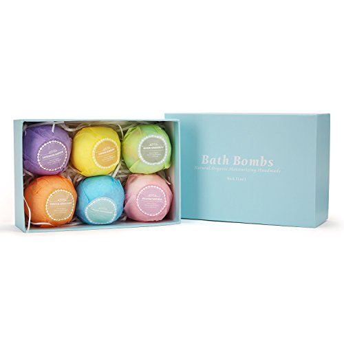 Review Bath Bombs Gift Set,