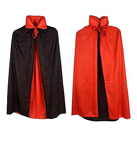 Halloween 3 Pieces Goth Devil Pirate Vampire Demon Role Play Set Costume Cosplay
