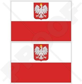 ***POLAND POLISH VINYL FLAG DECAL STICKER***